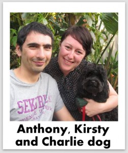 kirsty and anthony selfie