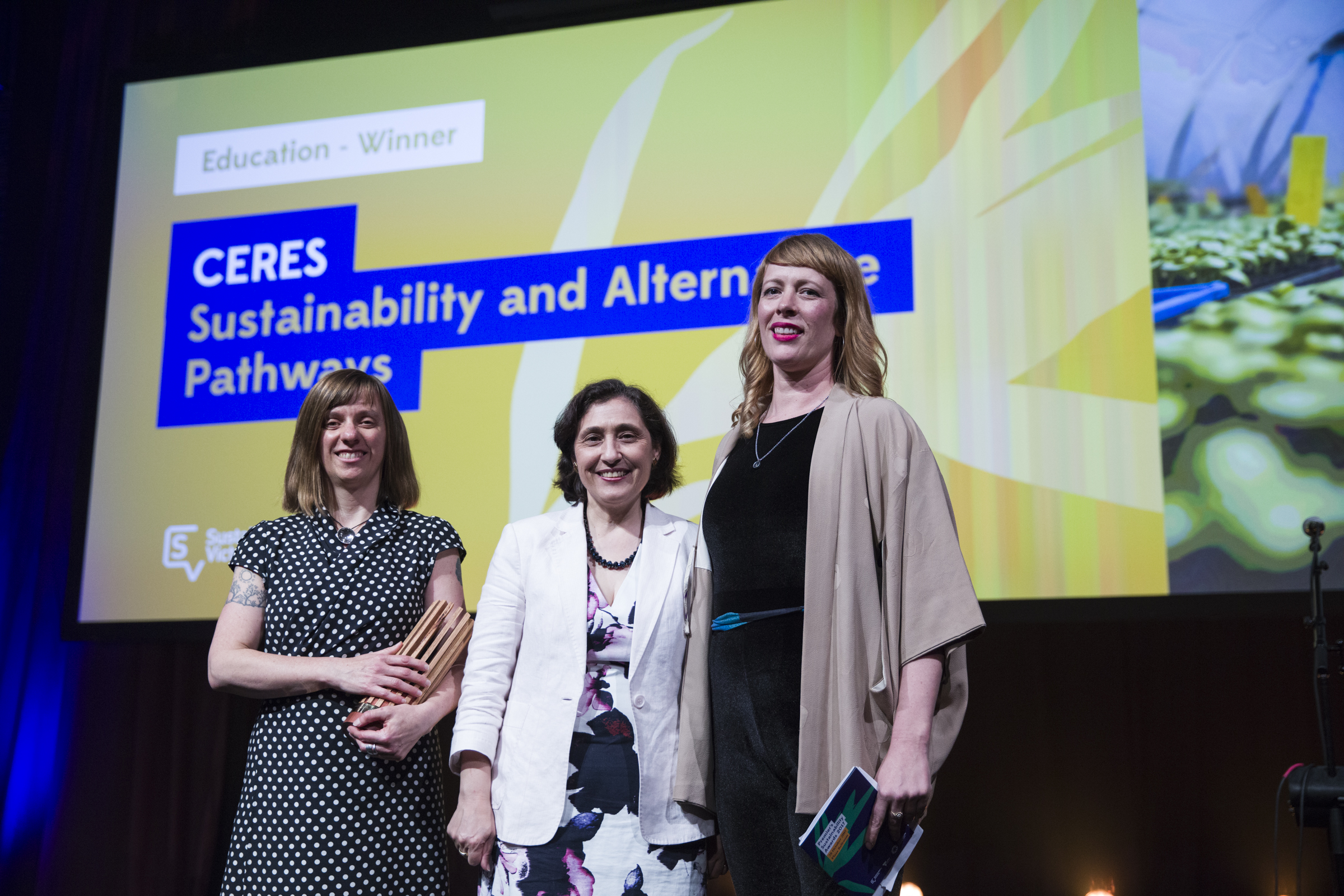 CERES wins Premier's Sustainability Award