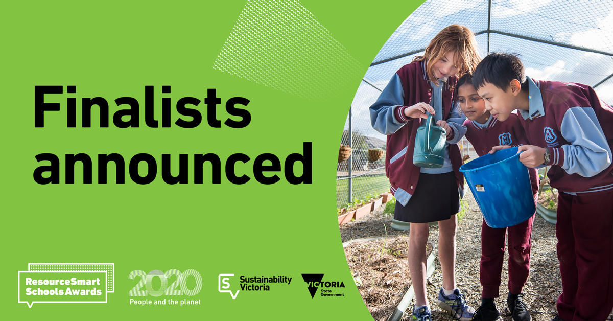 ResourceSmart Schools Awards – Finalists announced