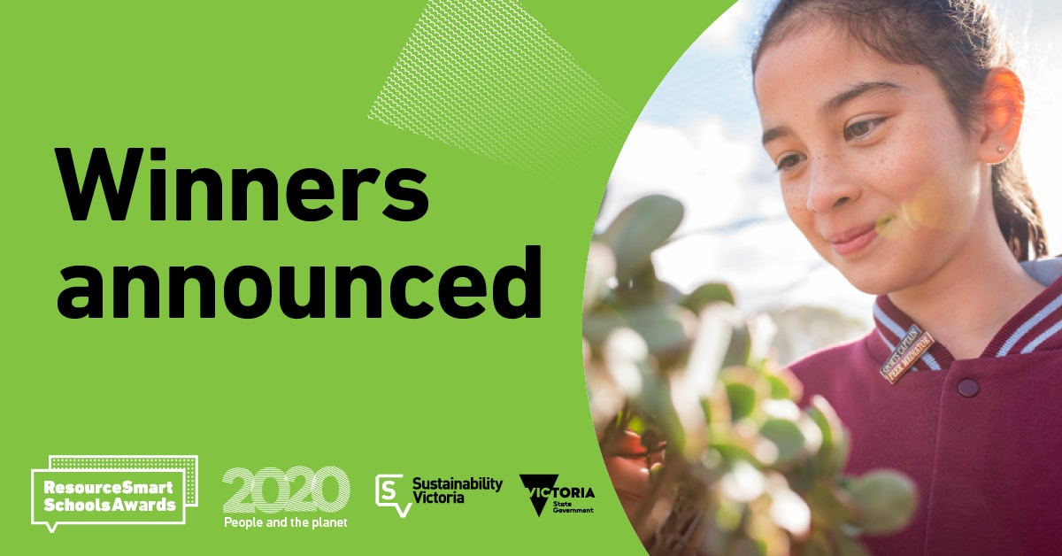 2020 ResourceSmart Schools Awards